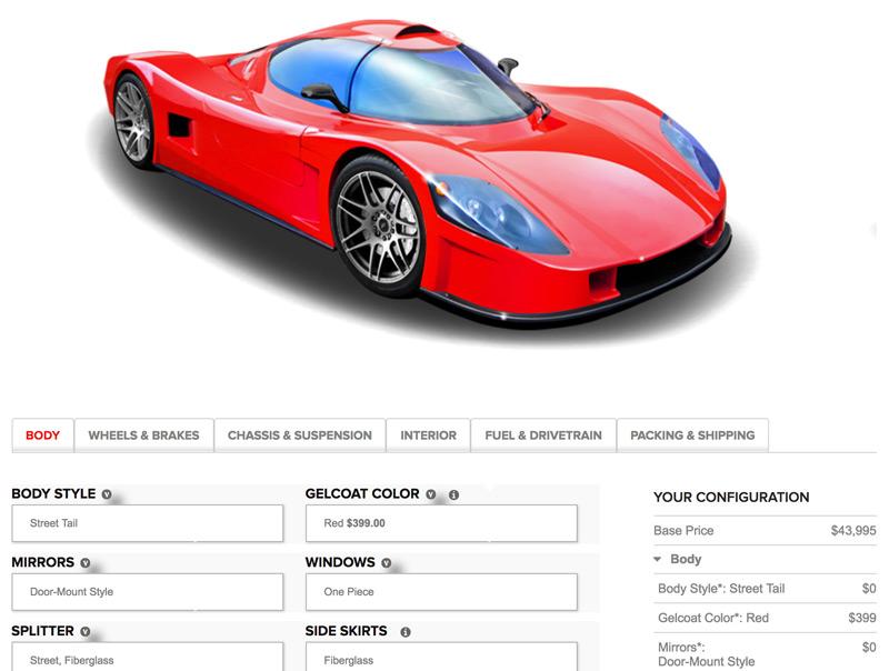 Configurator - config.superlitecars.com/slc
